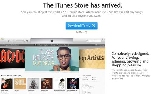 SA-iTunes Store