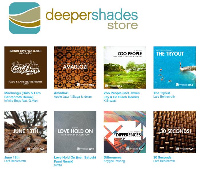 Deeper Shades Music Store
