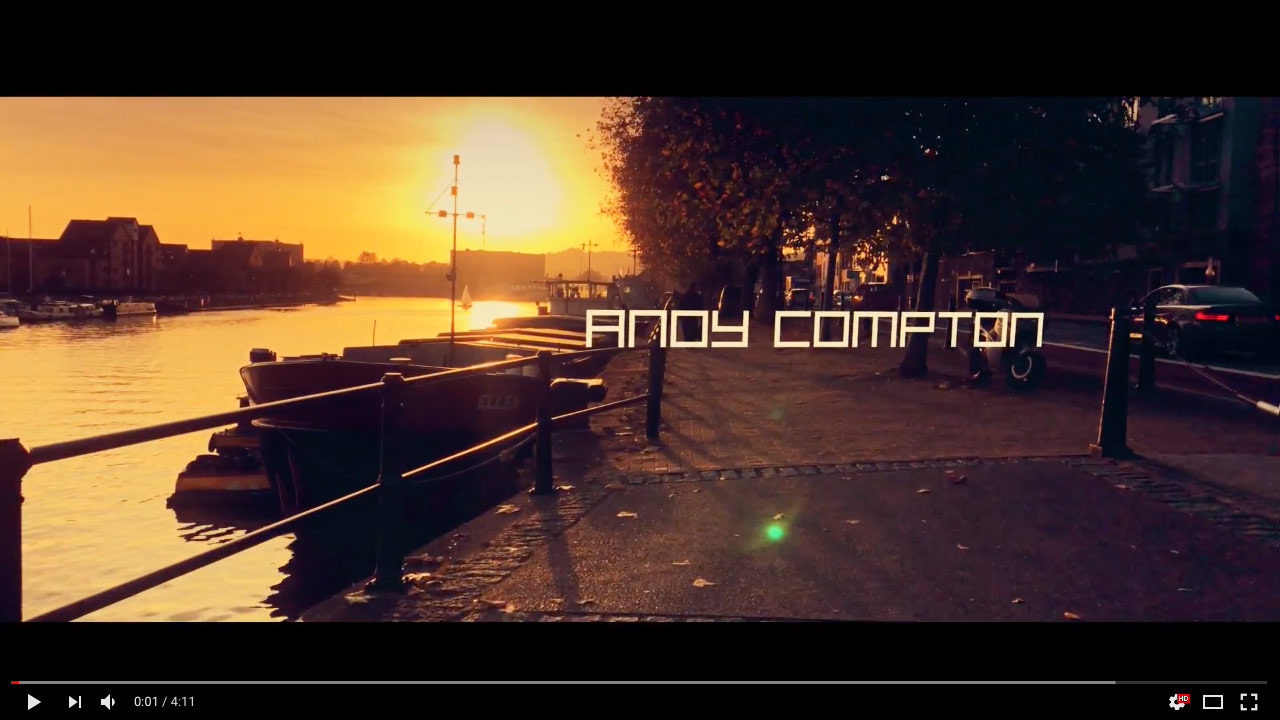 Andy Compton feat. Tenisha Edwards - Silent Wandering - OFFICIAL MUSIC VIDEO