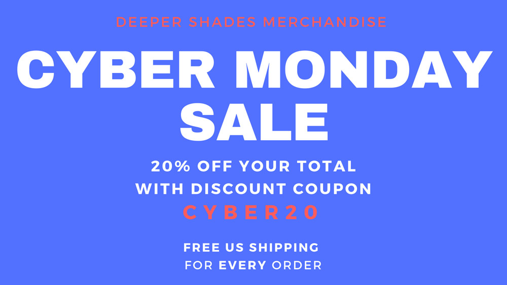 CYBERMONDAY SALE - 20% DISCOUNT
