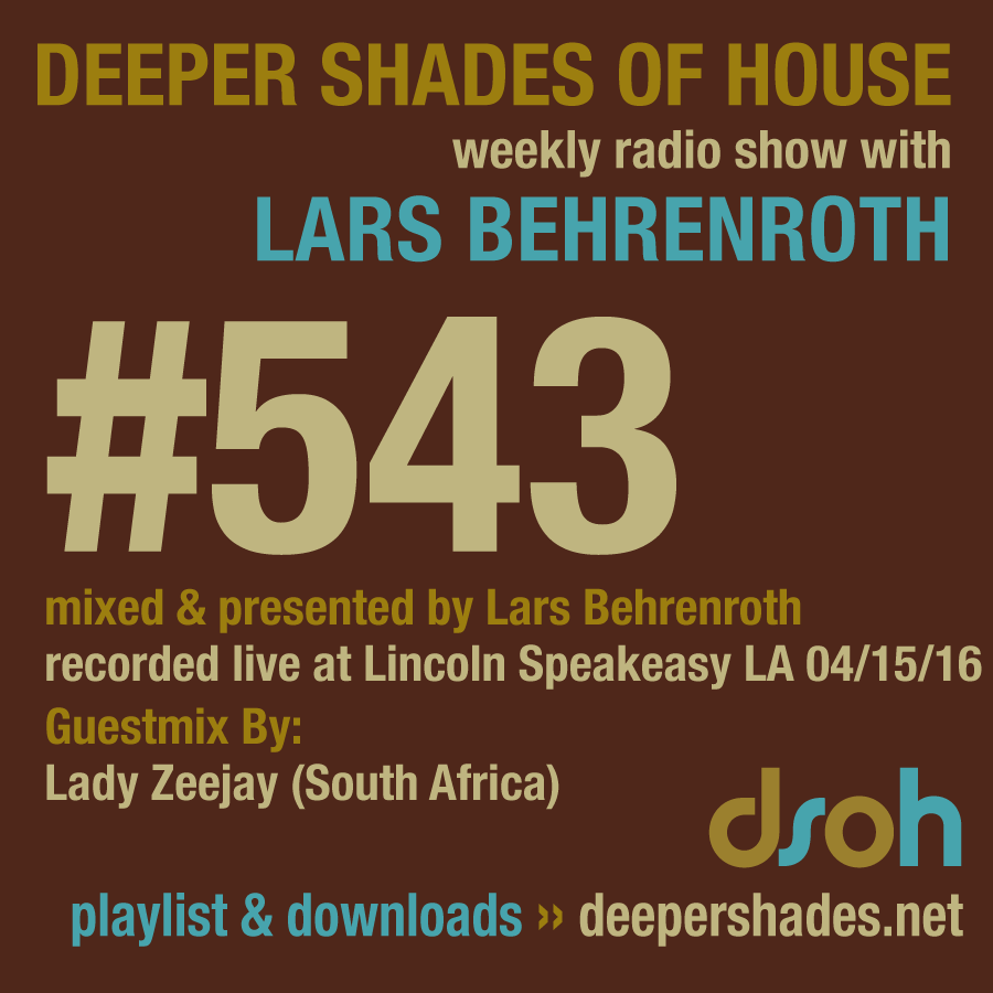Deeper Shades Of House 543
