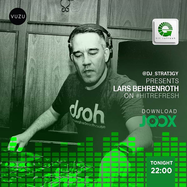 Lars Behrenroth Hit Refresh DJ Set Nov 9th 2018 - Download And Tracklist