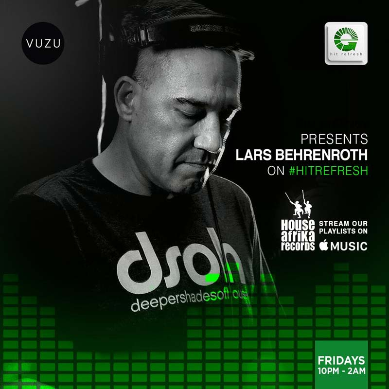 Lars Behrenroth Hit Refresh DJ Set October 18th 2019 - Download And Tracklist