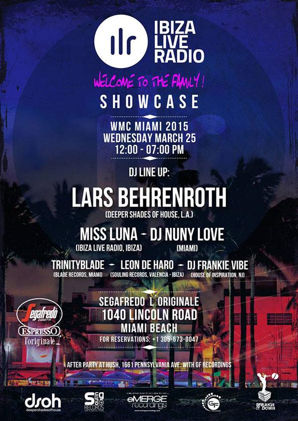 Lars Behrenroth at Hush in Miami - WMC 2015