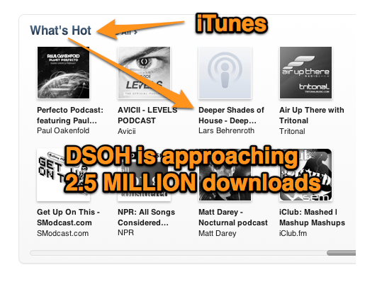 iTunes What's Hot